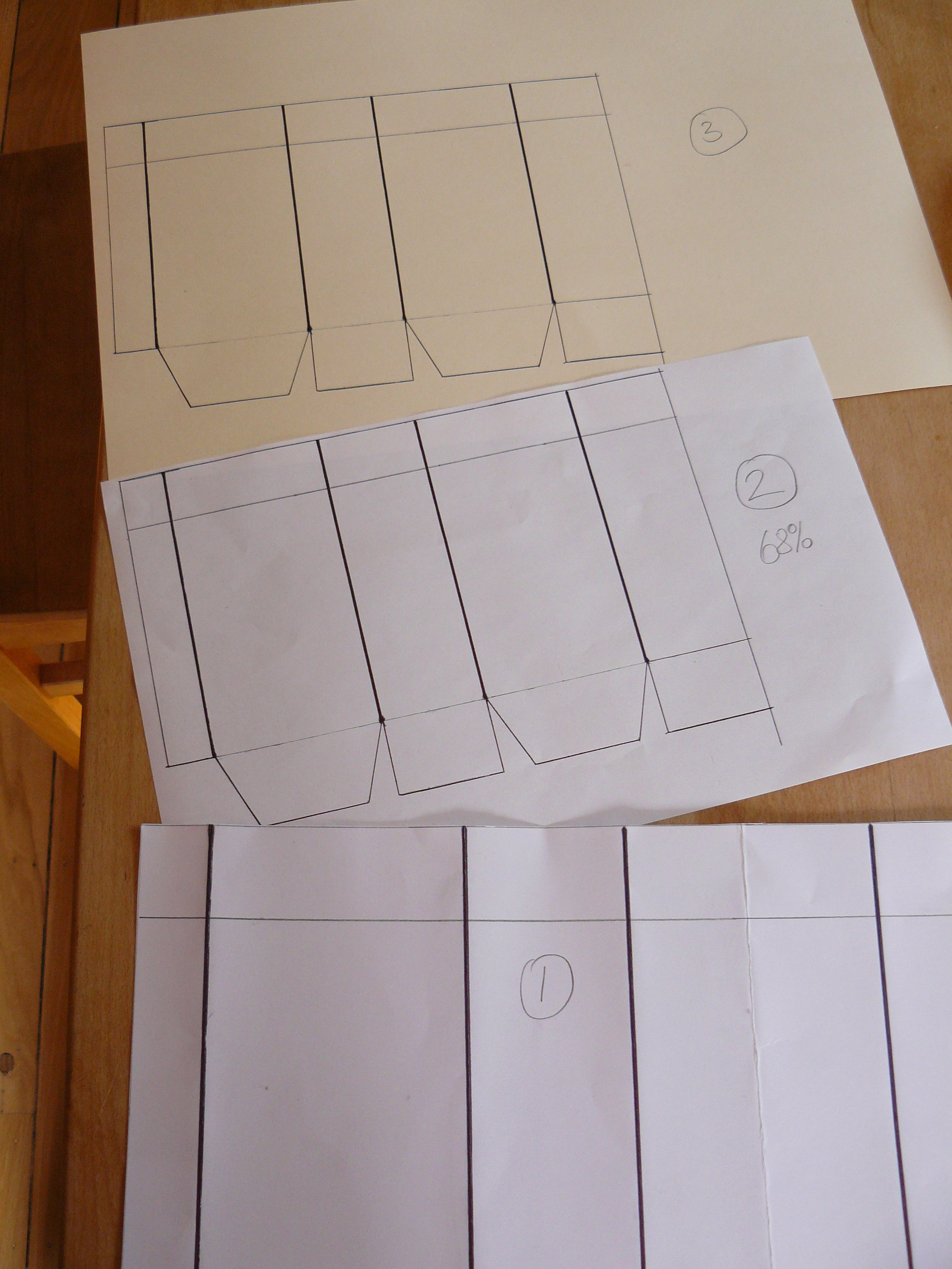 Template paper bag klara luna other than this template you will need your calendar page or any other thick paper wrapping paper an actual brown paper bag etc a pair of scissors jeuxipadfo Gallery